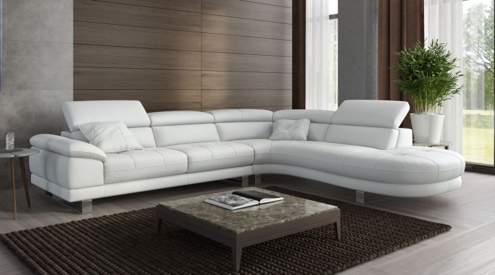 Leder eckcouch ecksofa sofa mit funktion l form scario for Eckcouch sale