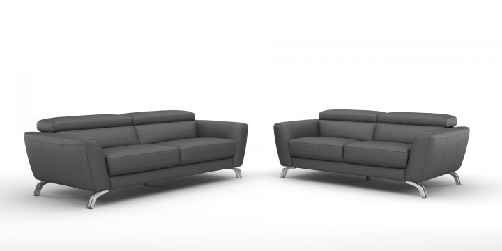 leder polstergruppe sofa couch garnitur 3 sitzer 2 sitzer marbella. Black Bedroom Furniture Sets. Home Design Ideas